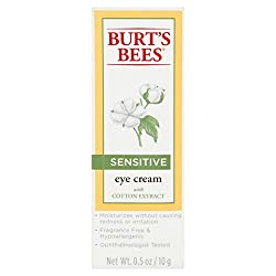 Burts Bees Eye Cream for Sensitive Skin, 0.5 Ounces