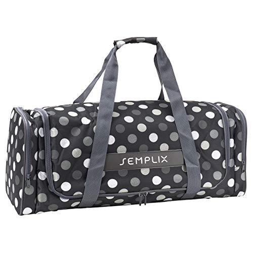 SEMPLIX Plottertasche, die optimale Aufbewahrungs- und Transport-Tasche für Hobby Plotter samt Zubehör (anthrazit/grau) -