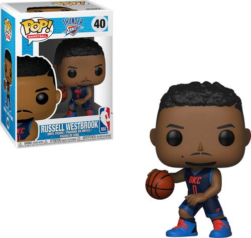 Funko 34452 Pop! Vinilo: NBA: Russell Westbrook, Multi