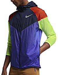 reputable site bbae2 7727a Nike M Nk Windrunner, Giacca A Vento Uomo, Persian  Violet Obsidian Reflective