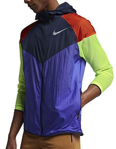 cheap for discount c653c cbc48 Nike Mens M NK WINDRUNNER Jacket, Persian VioletObsidianReflective,  Medium