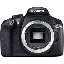 Canon EOS 1300D Reflex Fotocamera Digitale da 18 Megapixel, Wi-Fi, NFC, Nero/Antracite