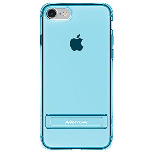 Case NILLKIN pour iPhone 7 crashproof 2 fonction de support du logement Bleu