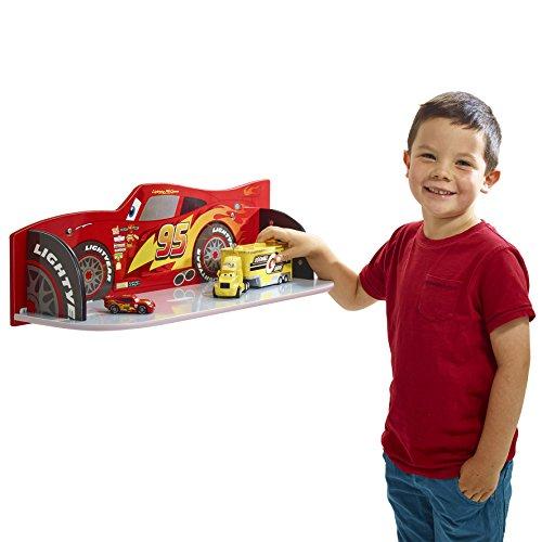 Cars 512CCA - Estantes para niños, Color Rojo