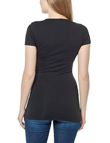 Berydale Damen T-Shirt mit Rundhalsausschnitt Schwarz (Schwarz)