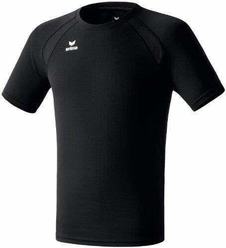 erima Uni T-Shirt Performance, schwarz, L, 808201 -
