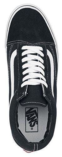 Vans UA Old Skool, Sneakers Basses Homme noir/blanc
