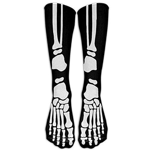 DAICHAI Highly Elastic,Durable, Flexible,Comfortable,Excellent Gift Choice Men&Women Skeleton Bone Cool Hallowmas All Sport Stocking Sockens Athletic Socken Shoe Size 7-10 One Size -