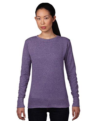 Anvil women ´ s 72000L french terry sweat-shirt Noir - Noir