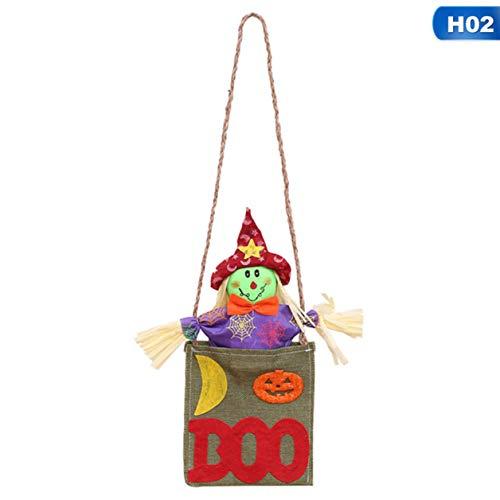 Baby Kostüm Scarecrow - Kedenis Hübsche Halloween Kürbisse Scarecrow Doll Hängende Tür Abhängende Halloween Party Lieferung praktisch(None Sunny Doll Red Hat)