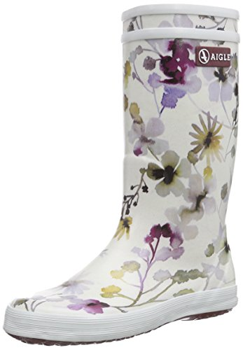 Aigle Unisex-Kinder Lolly Pop Gummistiefel Mehrfarbig (wildflower 8) 37