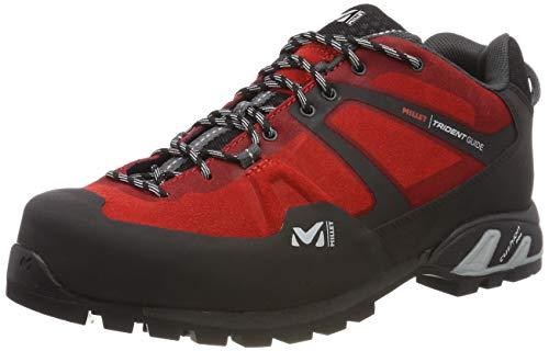 Millet Trident Guide, Zapatos de Low Rise Senderismo para Hombre, Rojo Red-Rojo 0335, 43 1/3 EU