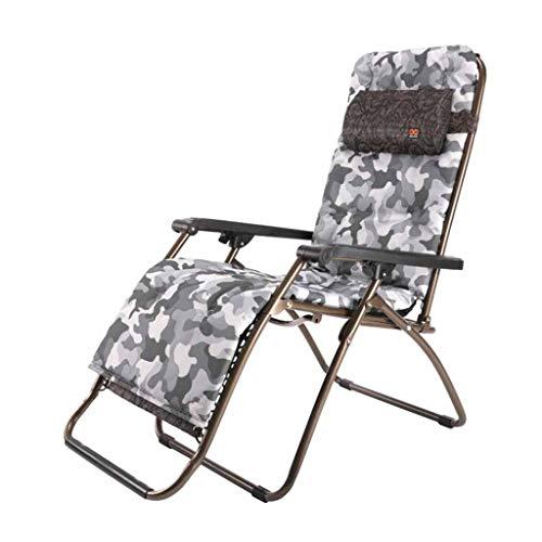 Chaise inclinable Pliante de Chaise de Jardin de Chaise de Plage avec Chaise Longue avec Porte-gobelet (Couleur : #2)