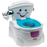 Fisher-Price P4324 My Potty Friend, Kids Toilet Training Seat with Sounds, Songs and Phrases to Encourage and Reward
