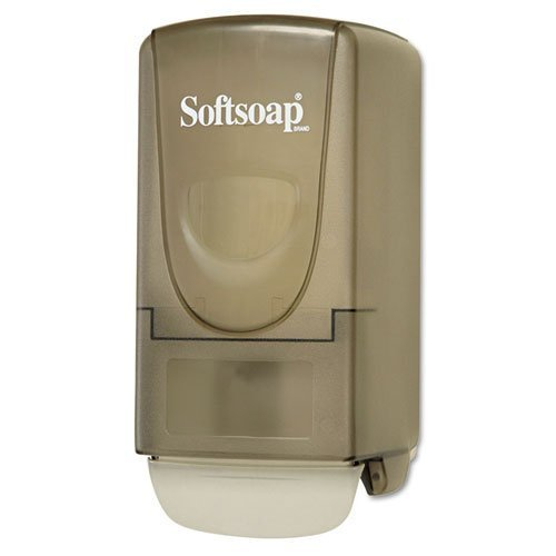 softsoap-plastic-liquid-soap-dispenser-800ml-5-1-4w-x-3-7-8d-x-10h-smoke-includes-one-each-by-softso