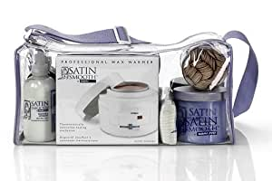Babyliss Wax Professional Starter Kit - Includes: Pro Wax Heater, 2 x Wax Pots, Pre Wax Spray, After Wax Lotion, Wax Remover, Strips and Applicators