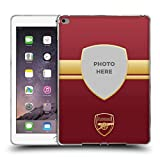 Head Case Designs Personalisierte Individuelle Arsenal FC Rot Un Gold 2018/19 Fotos Soft Gel Hülle für iPad Air 2 (2014)