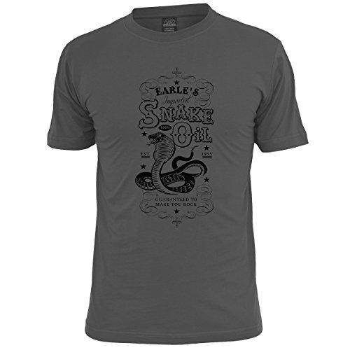 Earle's Snake Oil Mens Rock Music T Shirt