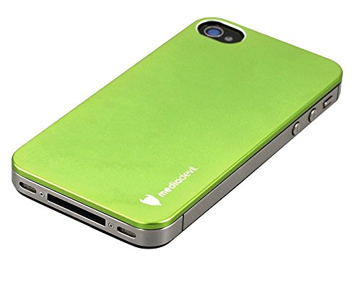 MediaDevil Tinskin aluminium back cover case for Apple iPhone 4/4S (Cuivre) Vert