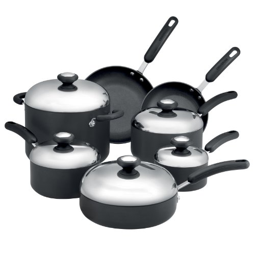 Circulon Total Hard Anodized Nonstick 12-Piece Cookware Set