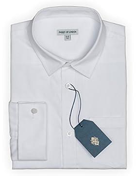 Paisley of London Niños Blanco Camisa, infantil Camisas, 6Meses–14Años
