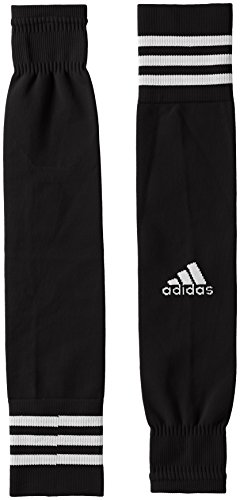 adidas Kinder Team Sleeve 18 Stutzen, Black/White, EU 34-36
