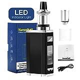 E Cigarette, YumaPuff Zebra 80W Vape Box Starter Kit, Electronic Cigarette Kit, Rechargeable