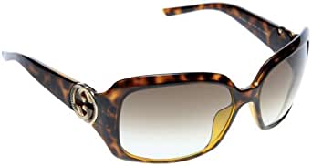 New Gucci Sunglasses GG 3164 GG3164 791 Havana Women