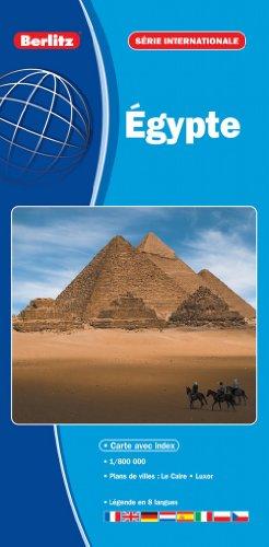 Égypte - Carte Routière et Touristique