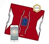 Tanita RD-953 Analyseur de composition corporelle Rouge connecté Bluetooth My TANITA...