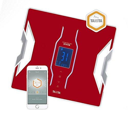 Tanita RD-953 Analyseur de composition corporelle Rouge connecté Bluetooth My TANITA Healthcare App