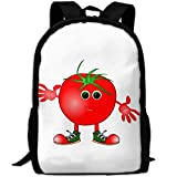 HOJJP HandtascheMost Durable Lightweight Casual Classic Water Resistant School Backpack - Tomato Clip Art