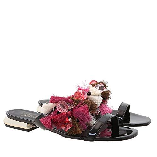 Sandal Sue, 40, Black Jewel Strap Sandal