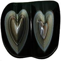Regenbogen Obsidian 1 Herzen Unikat Sein Gewicht ist ca. 461 g. ca. B 12.6…H 4.1…T 6.5… cm … preisvergleich bei billige-tabletten.eu