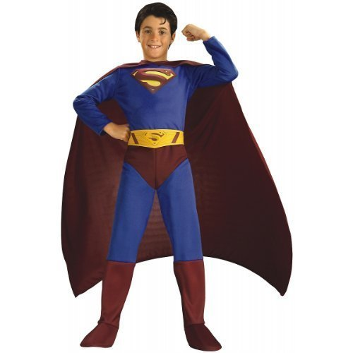 Superman Returns Child Halloween Costume Size 8-10 by Halloween Resource Center, (Kinder Kostüm Für Returns Superman)
