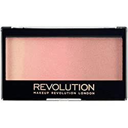 MAKEUP REVOLUTION Gradient Highlighter - Rose Quarz Light - Palette mit Highlighter und Rouge - vegan, glutenfrei und tierversuchsfrei - 12 g