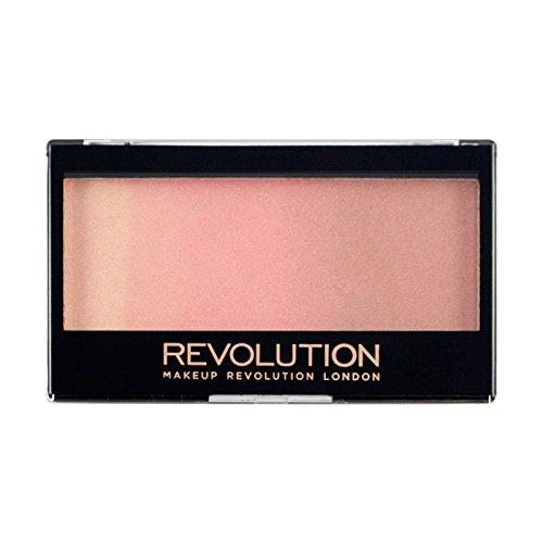 MAKEUP REVOLUTION Gradient Highlighter - Rose Quarz Light - Palette mit Highlighter und Rouge - vegan, glutenfrei und tierversuchsfrei - 12 g