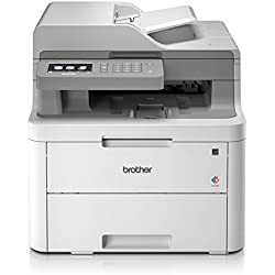 Brother dcp-l3550cdw - imprimante Multifonction (WiFi, USB 2.0, 512 MB, 800 MHz, 18 PPM, 400 W) Blanc