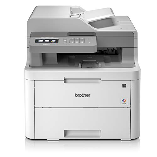 Brother DCP-L3550CDW - Impresora multifunción (Wifi, USB 2.0, 512 MB, 800 MHz, 18 ppm, 400 W) Blanco