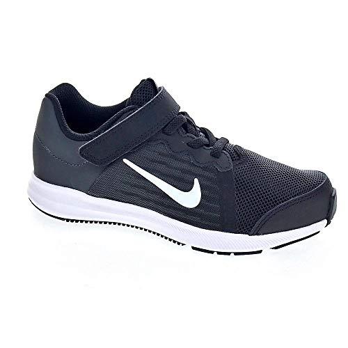 Nike Jungen Kleinkinder Sneaker Downshifter 8 (PSV) Laufschuhe, Schwarz (Black/White/Anthracite 001), 28.5 EU