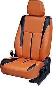 Antique Ford Figo Aspire Orange Leatherite Car Seat Cover