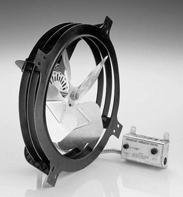 Air Vent 53320gable-mounted Power Dachboden Ventilator