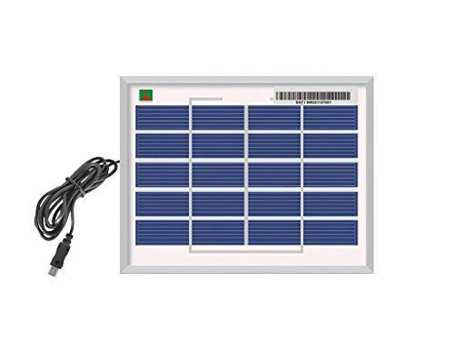 Varshine® Premium 30 Watt Solar Panel with Multi Pin Mobile Charger Heavy Quality M-05