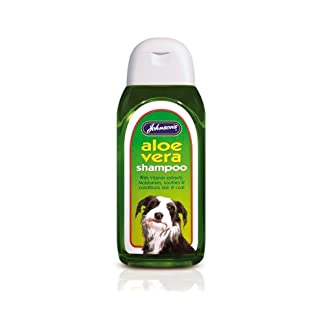 Johnsons Aloe Vera Shampoo (6) Johnson's 6 x Dog Aloe Vera Shampoo 41lNebDa7EL