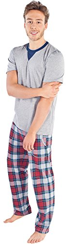 Italian Fashion IF Herren Pyjama Edgar 0230 Melange