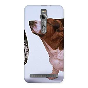 Stylish Dog Fan Back Case Cover for Asus Zenfone 2