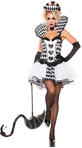Königin Kostüm Piraten - DLucc Kostüme Kostüme reizvollen Nachtclub-Sängerin Blei Tänzerin Kleidung Königin Halloween Kostüme Damen Flattern zu überwinden