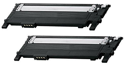 Prestige Cartridge CLT-K406S Kit 2 Toner compatibile per Stampanti Samsung CLP-360/CLP-365/CLP-368/CLX-3300/CLX-3305/Xpress SL-C410W/SL-C460W/SL-C467W, nero, 2 Pezzi
