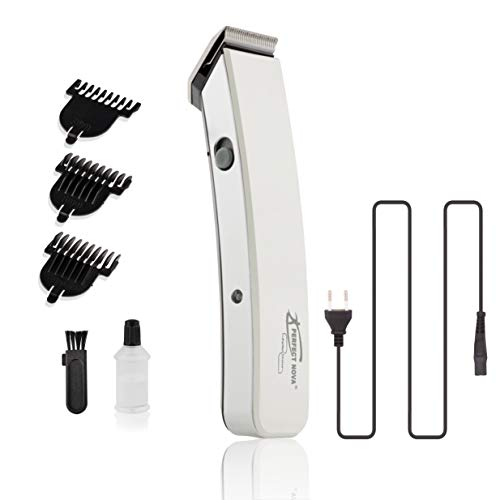 Perfect Nova (Device Of Man) PNHT-9046 Rechargeable Cordless Beard Trimmer for Men (White)