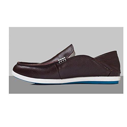 Hommes Occasionnels Respirant Business Fashion Chaussures En Cuir Souple C